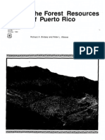 Forest Resources of Puerto Rico