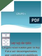 Ley 145 de 1960 Grupo 1