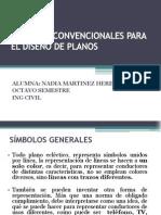 1SÍMBOLOS CONVENCIONALES PARA EL DISEÑO DE PLANOS