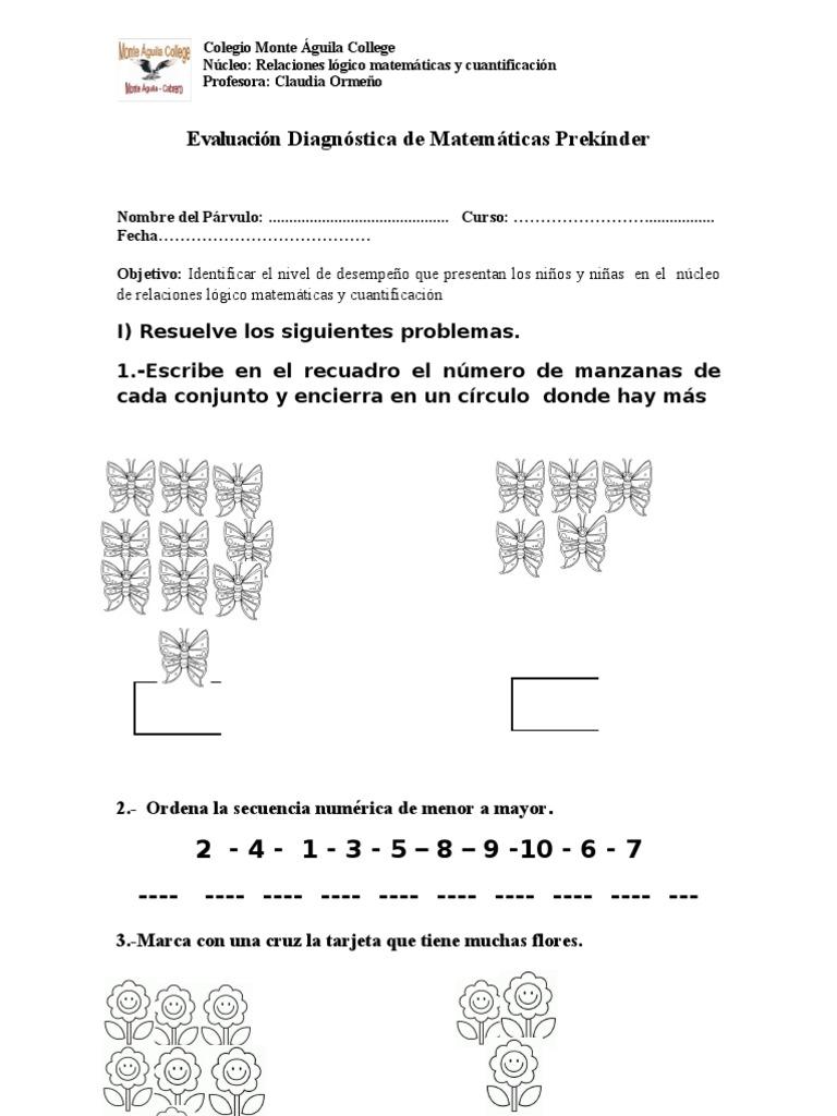 Lujoso Pre K Hojas De Trabajo De Matemáticas Patrón - hojas de ...