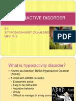 HYPERACTIVE DISORDER presentation.ppt