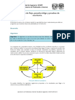 Diagrama de Flujo Pseudocodigo