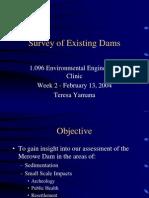 Dam Comparison