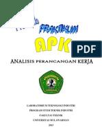 Modul Apk (Analisis Perancangan Kerja 2013 Aswar Universitas Mulawarman