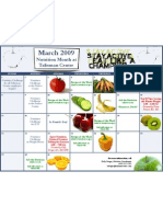 Nutrition Calendar 2009