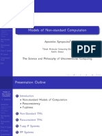 Models of Non-standard Computation