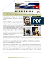 Lnr 71 (Revista La Nueva Republica) 20 de Marzo de 2013 Cubacid.org