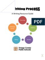 The Writing Process a Writing Resource Guide Final