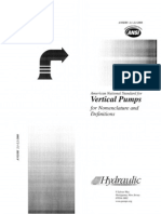 HI Pump Standard 2.1-2.2 Vertical Pumps for Nomentclature & Definitions
