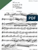 Luigi Bassi Rigoletto Clarinet part