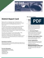 AGCS Report Card