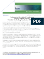 Vital Force Technology- Measuring With GDV