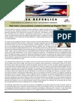 Lnr 72 (Revista La Nueva Republica) 28 de Marzo de 2013 Cubacid.org