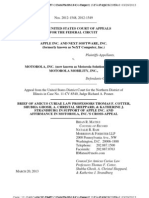 13-03-20 Law Professors' Amicus Brief in Support of Apple on FRAND