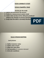 Process Capability Study