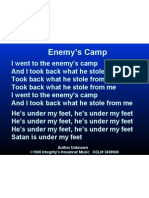enemy's camp