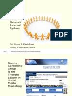Social Network Referral System