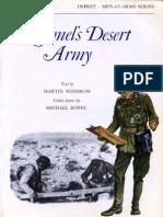 Osprey, Men-At-Arms #053 Rommel's Desert Army (1976) 77Ed OCR 8.12