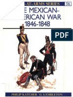 Osprey, Men-At-Arms #056 the Mexican-American War 1846-1848 (1976) 00Ed OEF 8.12