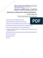 IBAÑEZ Movimientos y redes para una cultura transformadora - Educación - J.E. Ibáñez