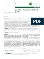 2012A High Throughput DNA Extraction Method