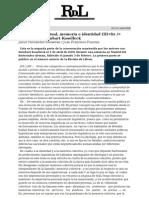 Kosselleck Nación Linguística y Política