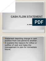 Cash Flow Statemwent
