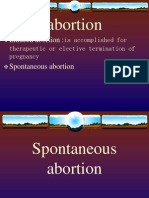 Spontaneous Abortion Pp