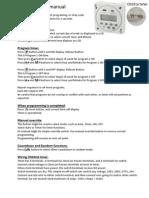 CN101A Timer Manual