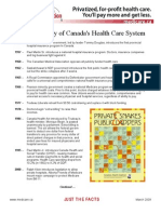 History of Medicare in Canada