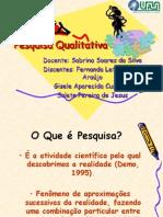 Seminário Pesquisa Qualitativa