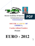 Euro-2012 - Professional Football Coaches' Homework