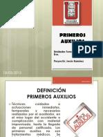PRIMEROS AUXILIOS UNIDADES 1-4