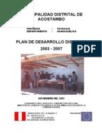 PDC ACOSTAMBO