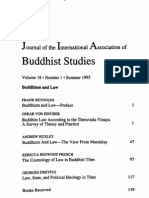 HINUBER, Oskar - Buddhist Law According to the Theravada-Vinaya. a Survey of Theory and Practice [1995]