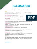 Glosario Compu