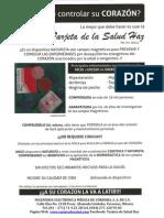 Tarjeta de la salud  HAZ información Integral