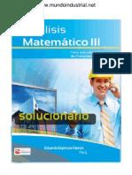 Solucionario Analisis Matematico III - Eduardo Espinoza Ramos