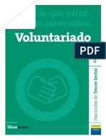 Fasciculo 04 de Revista de Tercer Sector