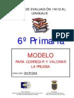Correccic3b3n Prueba de Lengua 6c2ba