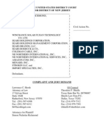 Richmond v. Winchance Solar Fujian Technology et. al.