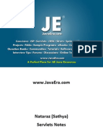 Servlets (Natraz Sir Notes) -JavaEra.com
