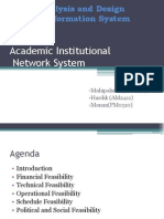 Institutional Network System