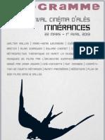 Itinerances Programme 2013