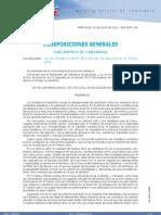 Ley de Juventud Cantabria 2010