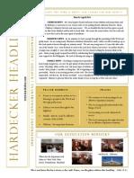 Hardecker Headlines (Mar./Apr. 2013)