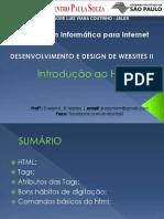 01 - Introdução HTML