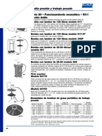 Bomba Manuales Para Grasa y Aceite LINCOLN