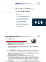 Descriptive Geometry 1 Lecture Notes