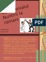 Nunta La Romani~Ana -Maria Ignat a VII-A A